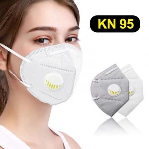 Maske sa filterom i ventilom KN95